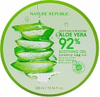 NATURE REPUBLIC~Универсальный гель с алоэ~Soothing&Moisture Aloe Vera 92% Soothing Gel