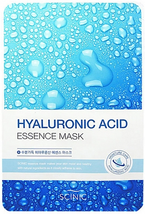 Scinic~Тканевая маска с гиалуроновой кислотой~Hyaluronic Acid Essence Mask